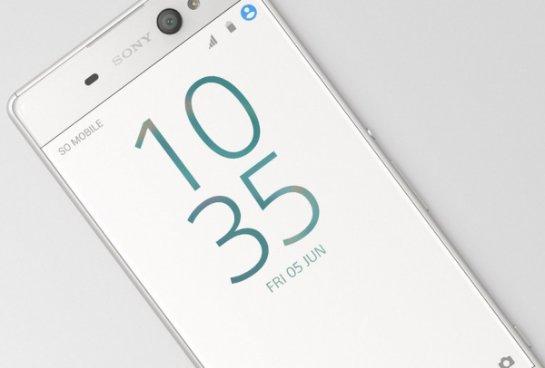 Sony Xperia XA Ultra- смартфон с очень мощной фронтальной камерой