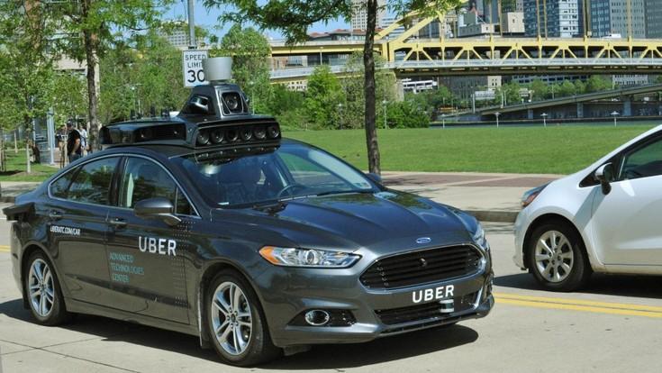 Uber тестирует свой первый беспилотный автомобиль
