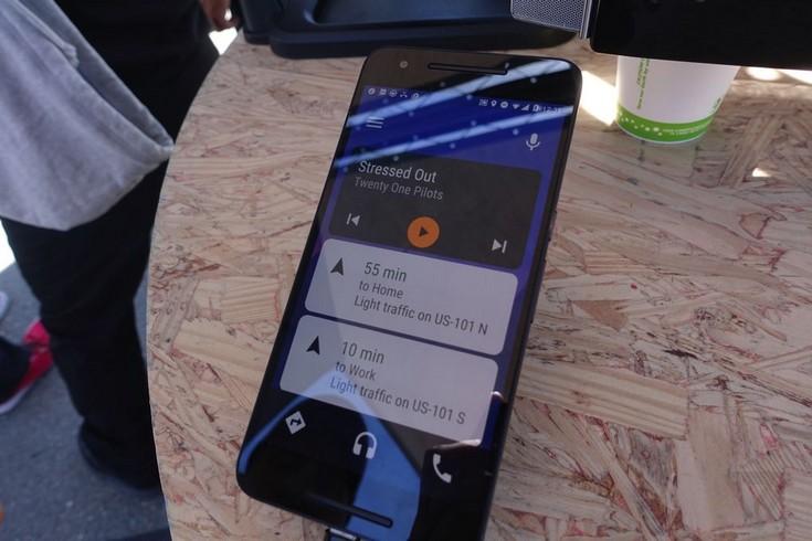 Android Auto появится в виде приложения для смартфона
