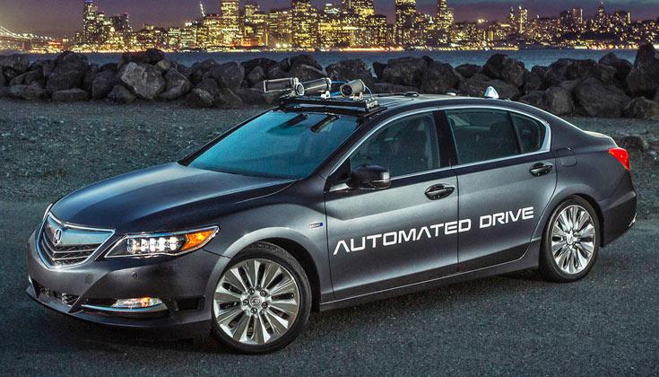 Acura планирует выпустить самоуправляемые автомобили примерно к 2020 году