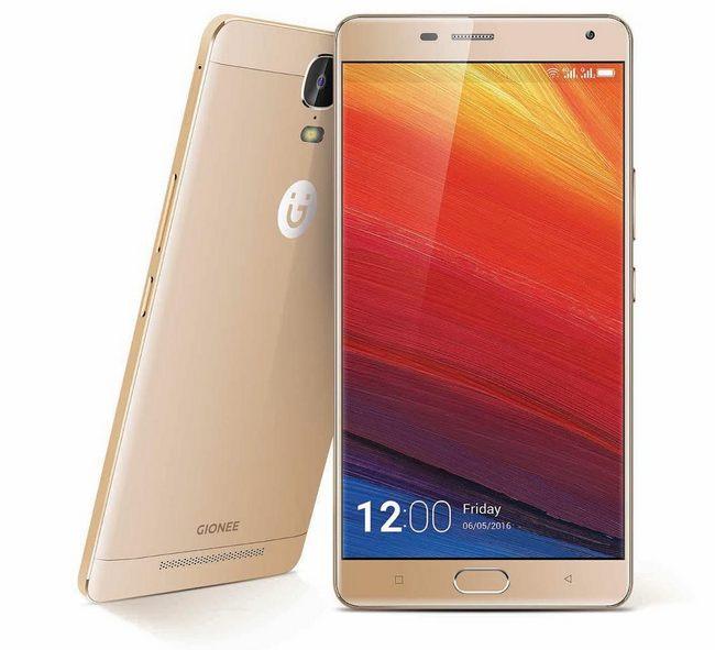 Шестидюймовый смартфон Gionee Marathon M5 Plus получил аккумулятор емкостью 5020 мА•ч