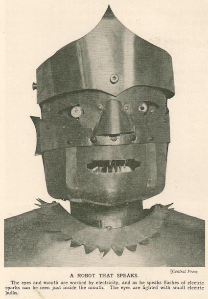 Возвращение Эрика — первого говорящего робота Великобритании - 4