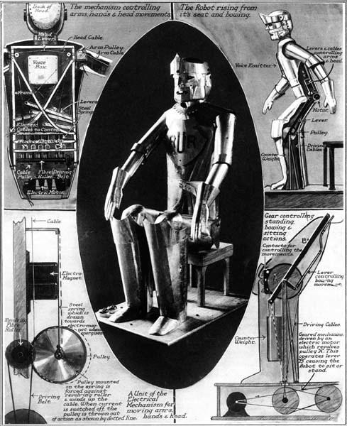 Возвращение Эрика — первого говорящего робота Великобритании - 5