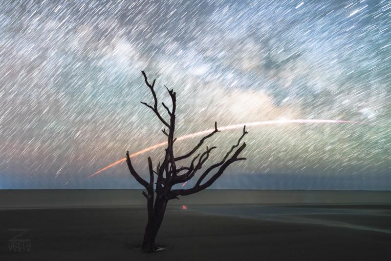 Фотограф-любитель случайно снял возвращение Falcon 9 - 5