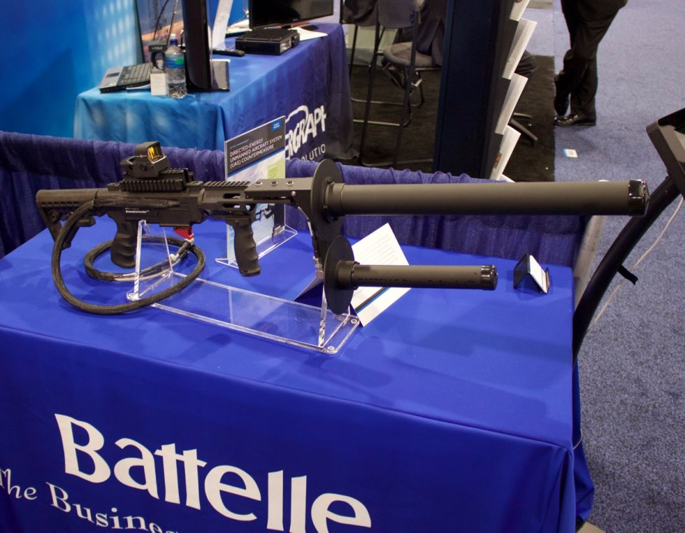 Радиоэлектронные пушки для атаки на беспилотники становятся более совершенными - 1