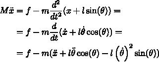 Разжёвываем линейно-квадратичный регулятор для управления перевёрнутым маятником - 10