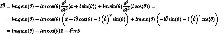 Разжёвываем линейно-квадратичный регулятор для управления перевёрнутым маятником - 13