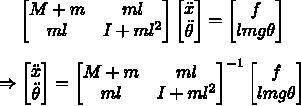 Разжёвываем линейно-квадратичный регулятор для управления перевёрнутым маятником - 15