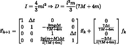 Разжёвываем линейно-квадратичный регулятор для управления перевёрнутым маятником - 22