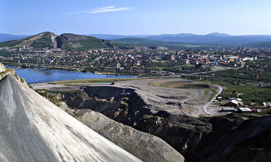 Шведы перемещают город на 3,2 километра - 2