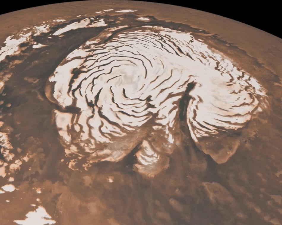 Ветер и лед на Марсе - 12
