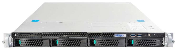 На серверы и хранилища Nfina распространяется пятилетняя гарантия