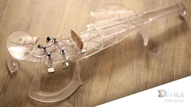 Создатели скрипки рассчитывают собрать не меньше 50 000 евро