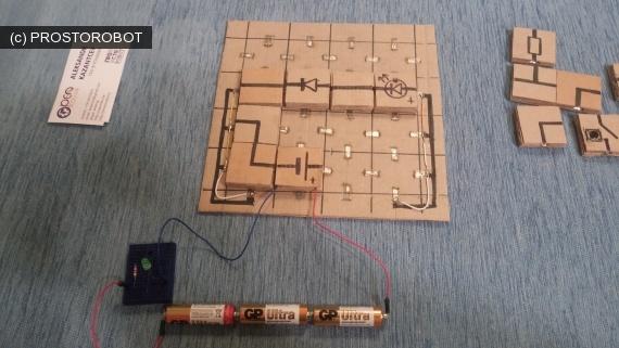«Электричество в квадратиках» или как я делал электронный конструктор из подручных материалов - 7