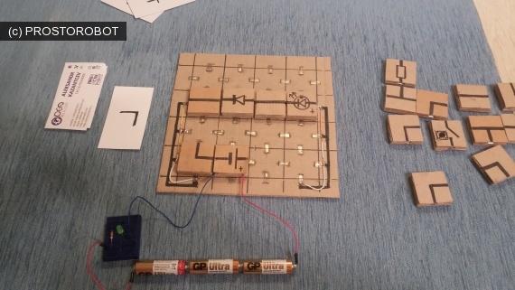 «Электричество в квадратиках» или как я делал электронный конструктор из подручных материалов - 8