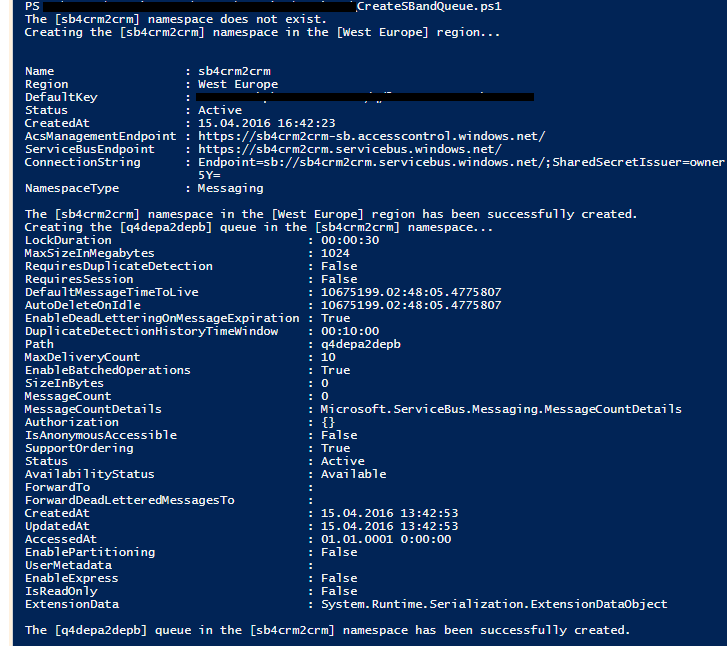 Интеграция двух тенантов Dynamics CRM Online при помощи Azure Service Bus и Azure Cloud Service - 1