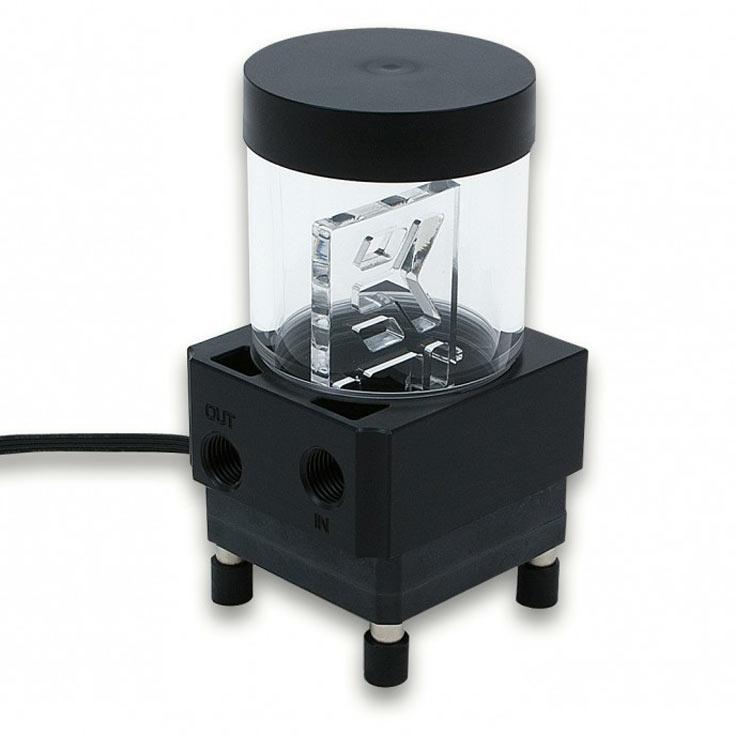 EK Water Blocks открыла серию EK-SPC помпой с резервуаром EK-XRES 100 SPC-60 MX PWM