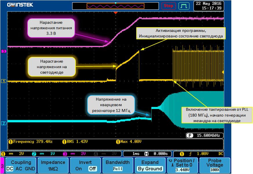 Модуль универсального контроллера для интернета вещей. Основы программирования - 3