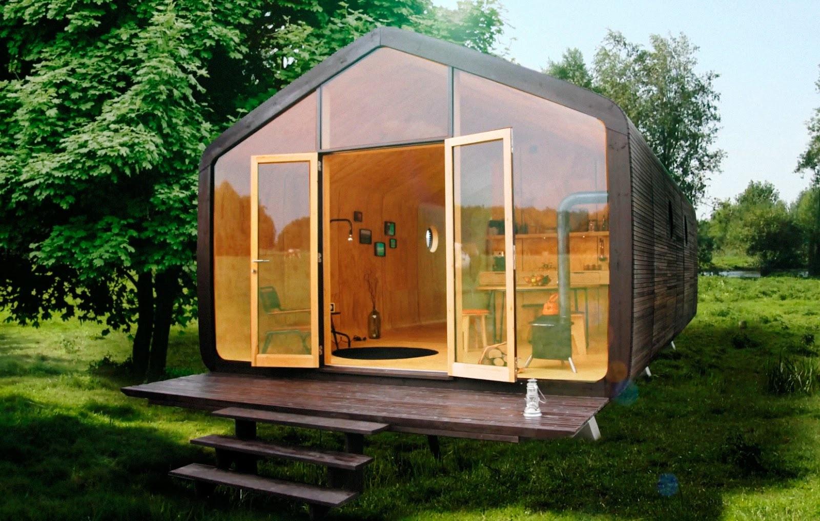 24-слойный картонный дом собирается за 1 день, выдержит минимум 50 лет - 1