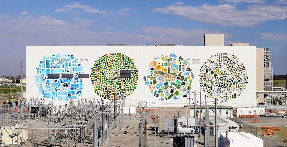 Google превращает свои дата центры в произведения искусства - 9