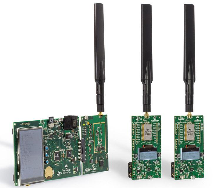 Microchip DV164140-1 и DV164140-2 — первые ознакомительные наборы для разработчиков, желающих использовать беспроводную технологию LoRa