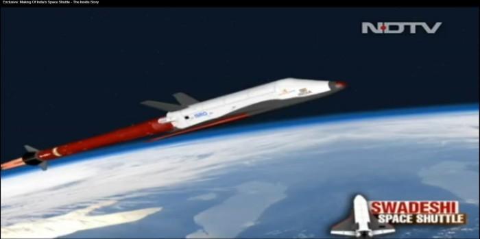 Индия испытала 6,5-метровую масштабную модель возвращаемой ступени - 2