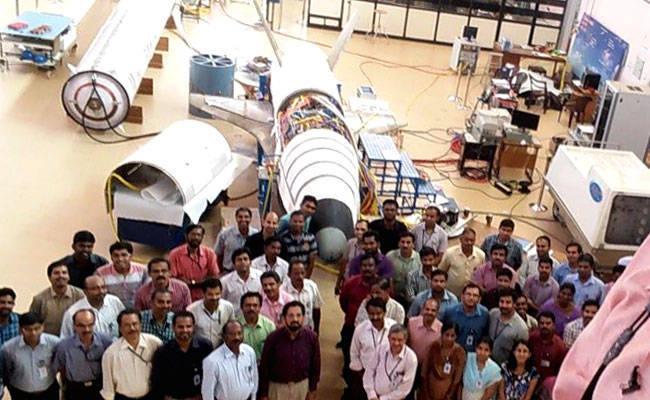 Индия испытала 6,5-метровую масштабную модель возвращаемой ступени - 4