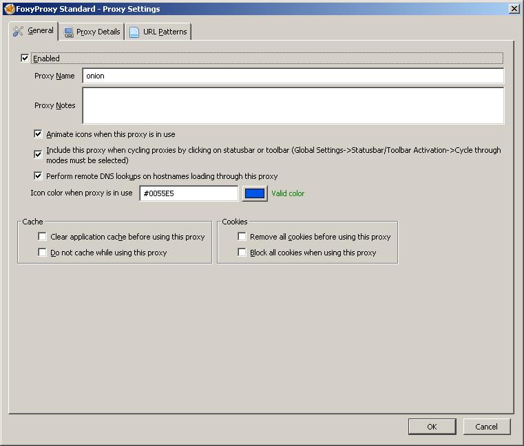 Как открывать заблокированные провайдером сайты и скрытые onion-сервисы в основном браузере (Firefox) - 2