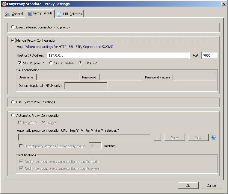 Как открывать заблокированные провайдером сайты и скрытые onion-сервисы в основном браузере (Firefox) - 3