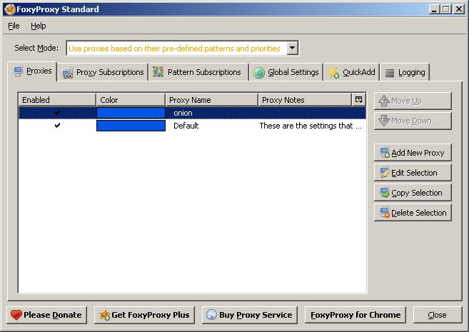 Как открывать заблокированные провайдером сайты и скрытые onion-сервисы в основном браузере (Firefox) - 1