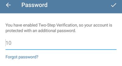 Почему двухфакторная авторизация в Telegram не работает - 4