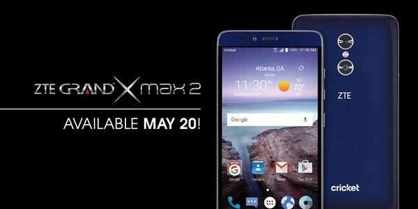 Шестидюймовый смартфон ZTE Grand X Max 2 оснащен сдвоенной камерой