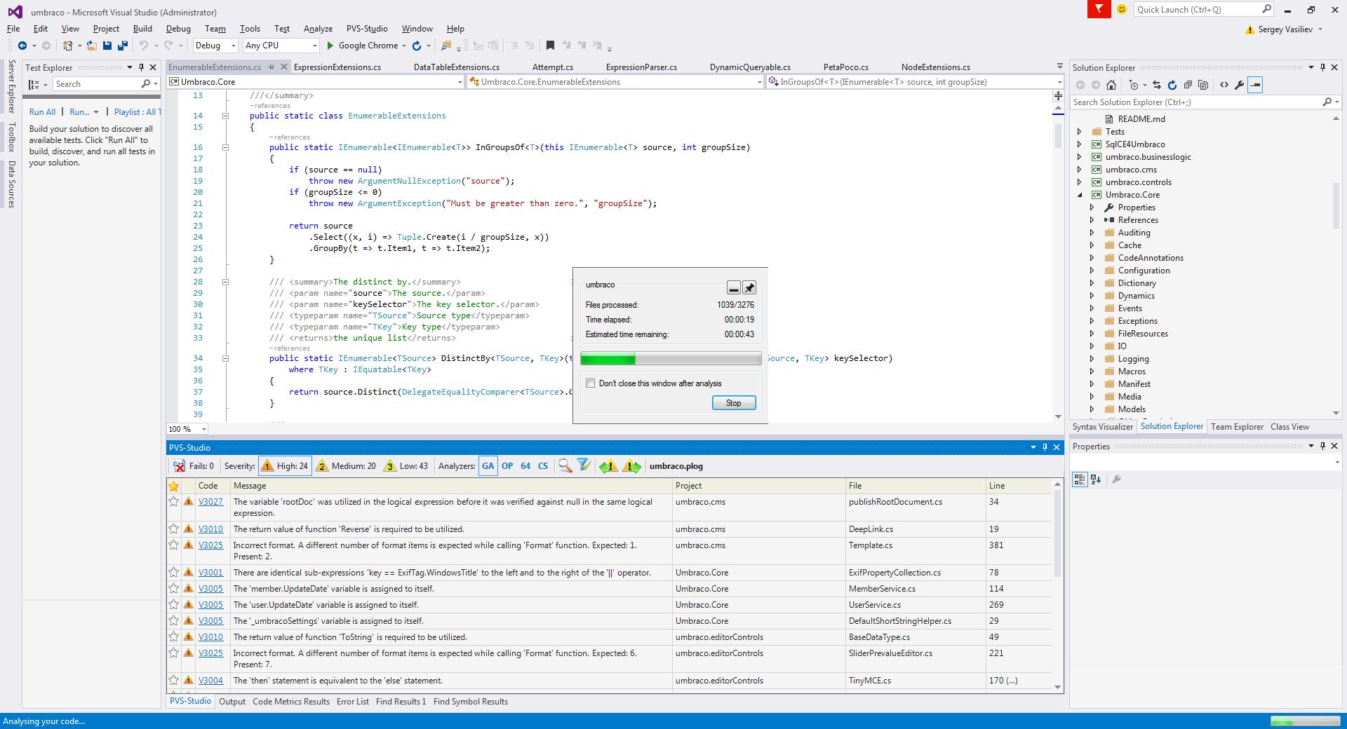 Microsoft открыла исходники Xamarin.Forms. Мы не могли упустить шанс проверить их с помощью PVS-Studio - 3