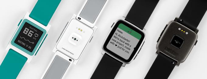 Pebble представила две новые модели умных часов и трекер-плеер Core