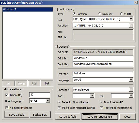 Ручная установка Windows 7-8-8.1-10 в систему с загрузчиком GRUB2 - 12