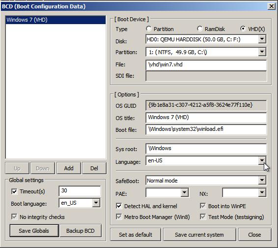 Ручная установка Windows 7-8-8.1-10 в систему с загрузчиком GRUB2 - 13