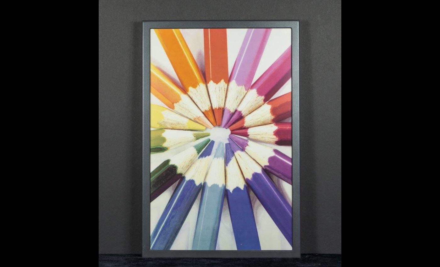 E Ink представила первую в мире полноцветную электронную бумагу - 1