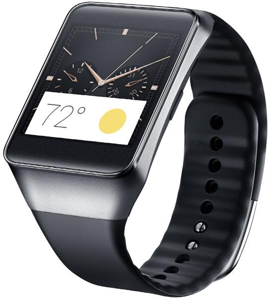 Умные часы Samsung Gear Live работают под управлением операционной системы Android Wear