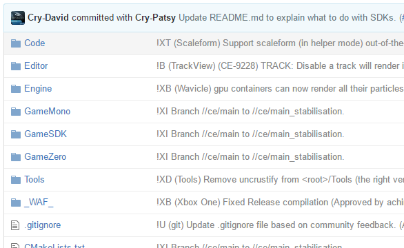 Исходный код CryEngine 5.1 опубликован на Github - 2