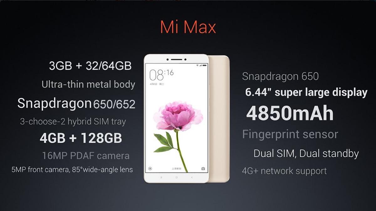 Когда размер имеет значение: Mi Max и другие новинки от XIAOMI - 4