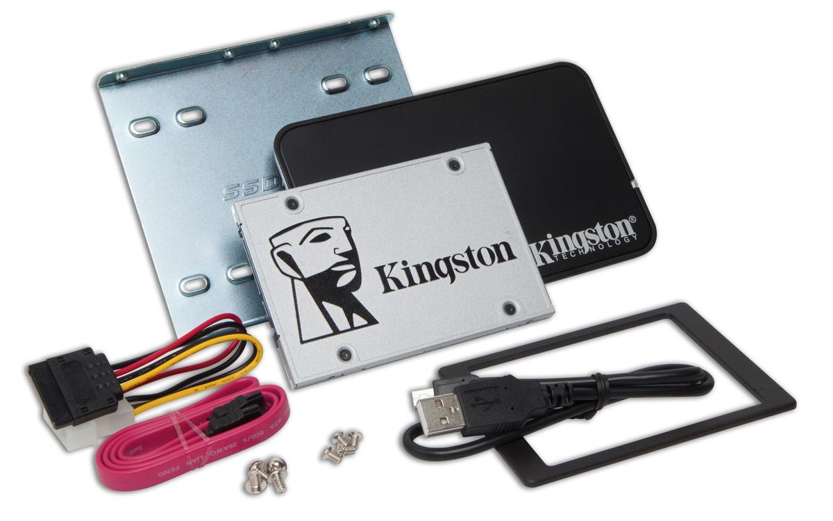 Компания Kingston представляет SSD-накопитель UV400 - 1
