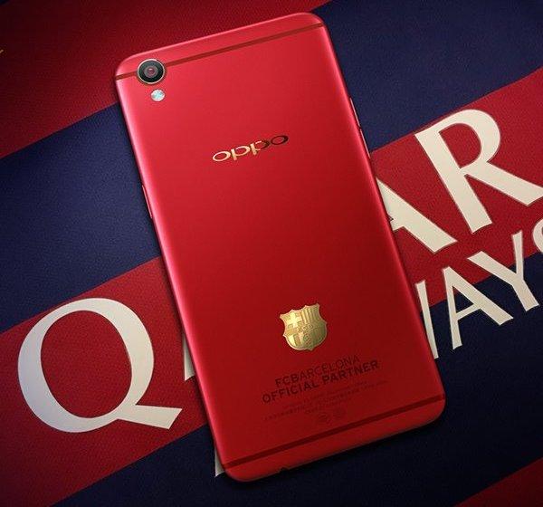 Смартфон Oppo R9 FC Barcelona Edition ориентирован на поклонников «Барселоны»