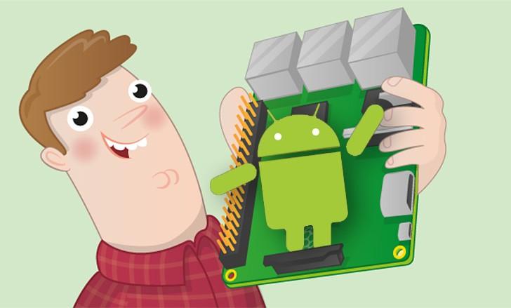 Google портирует Android на микрокомпьютер Raspberry Pi