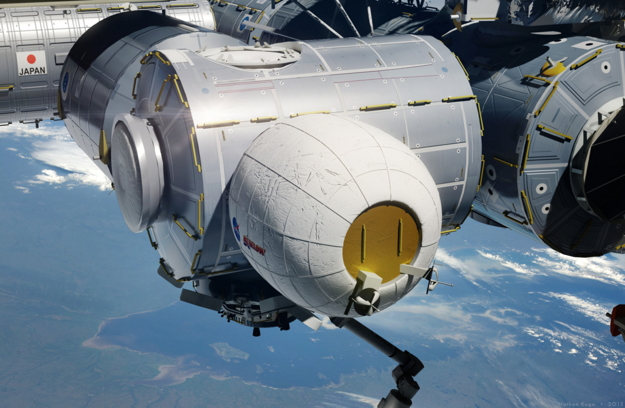 На МКС в прямом эфире разворачивают первый в истории станции надувной модуль [обновляется] - 2