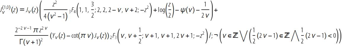 Новые производные функций Бесселя выведены с помощью языка Wolfram Language - 46