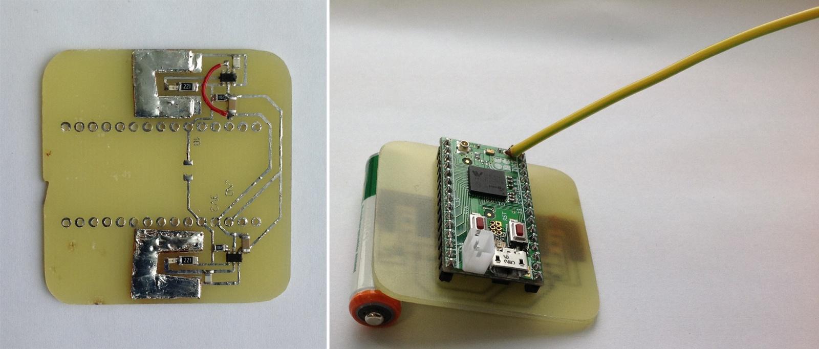 Сенсорный радио выключатель на батарейках. Livolo + Z-Uno - 6