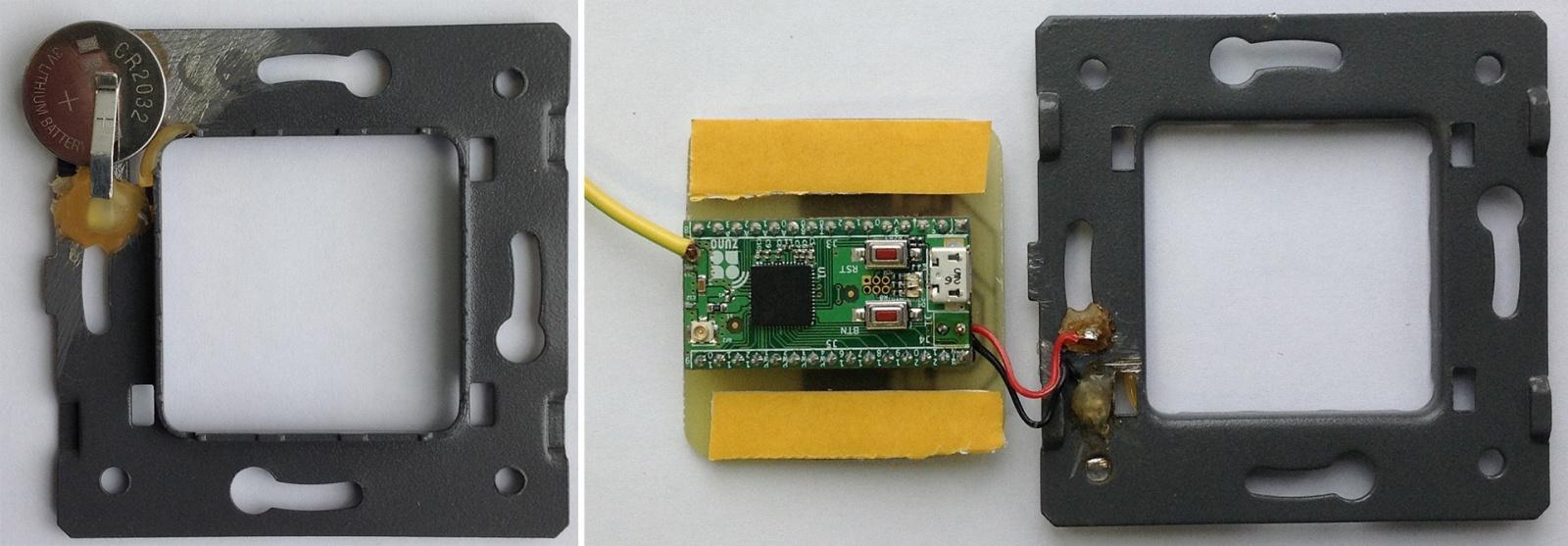 Сенсорный радио выключатель на батарейках. Livolo + Z-Uno - 7