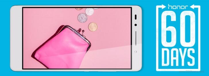 Европейские покупатели смартфонов Huawei Honor 7 и Honor 5X могут вернуть их в течение 60 дней