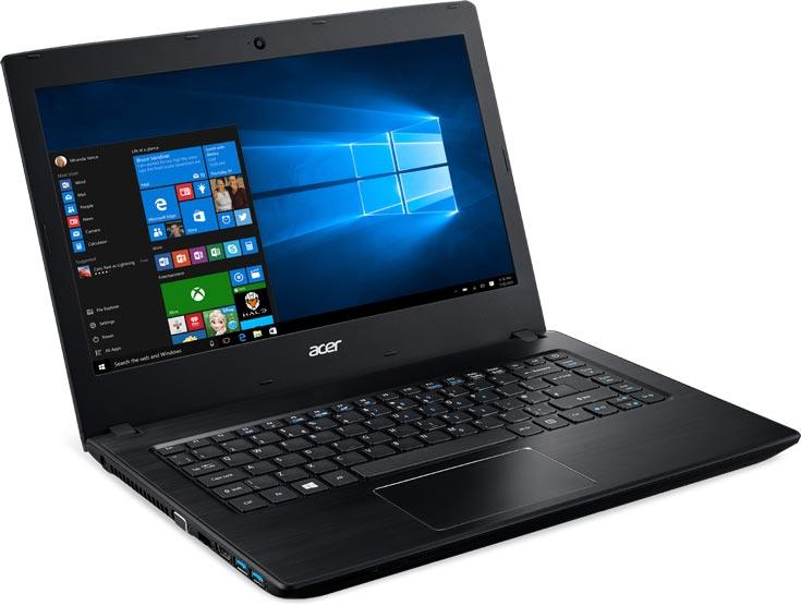 Ноутбуки Acer TravelMate P2 поставляются с Windows 10