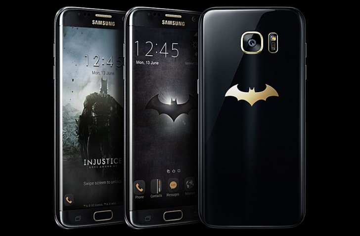 Смартфон Samsung Galaxy S7 edge Injustice Edition создан в сотрудничестве с Warner Bros. Interactive Entertainment